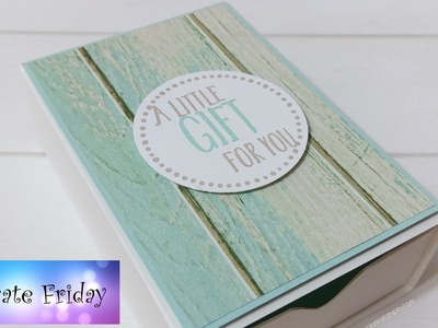 Big Daddy Match Box featuring Stampin' Up! Products