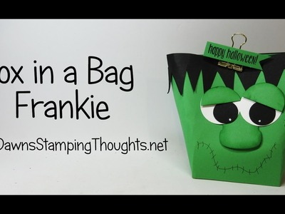 Box in a Bag Frankie featuring Stampin'Up! products