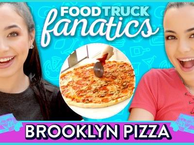 BROOKLYN PIZZA CHALLENGE | Food Truck Fanatics w.  The Merrell Twins