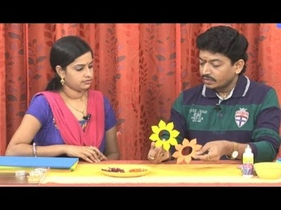 Creative Corner | How to Make Floating Candles with Foam Sheet | Diwali Special