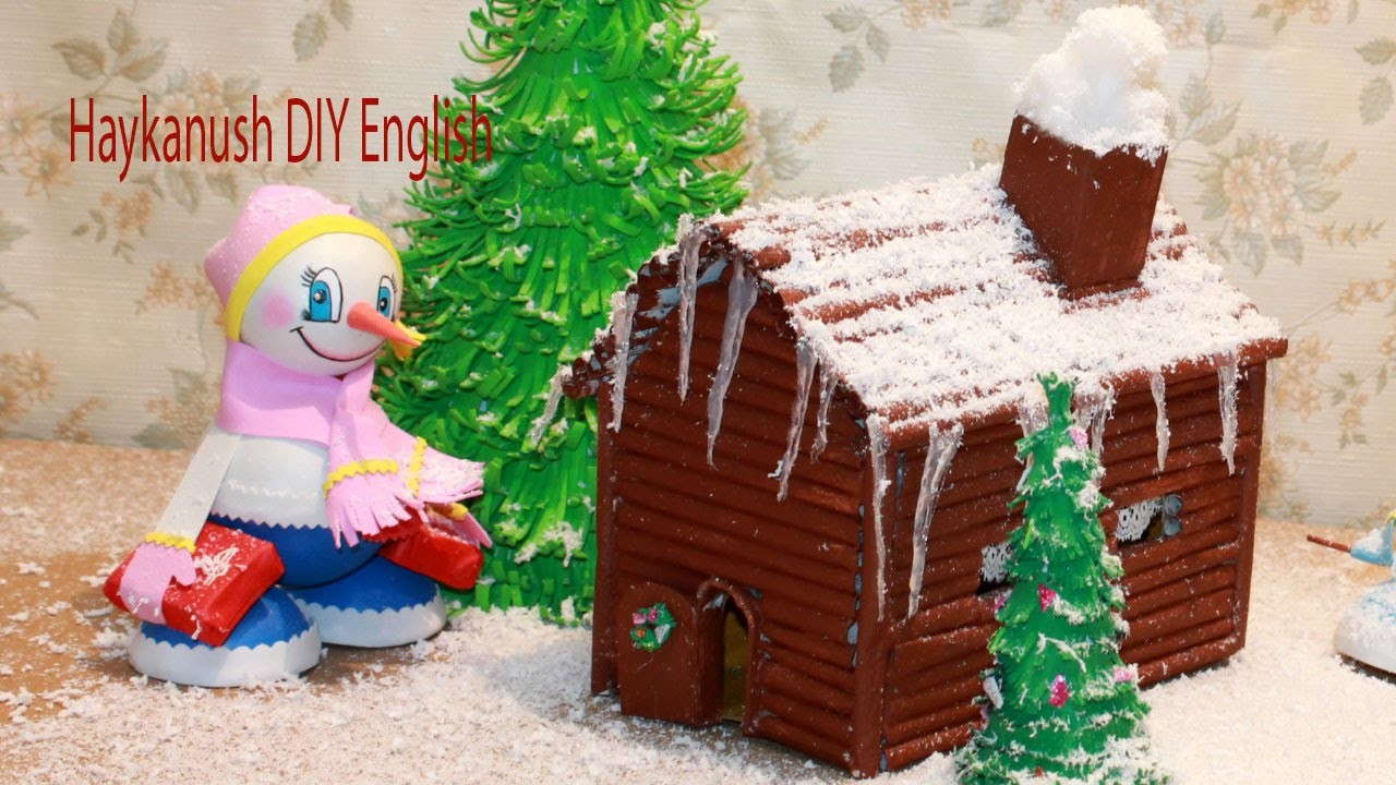 DIY How to Make Christmas House  From Magazine