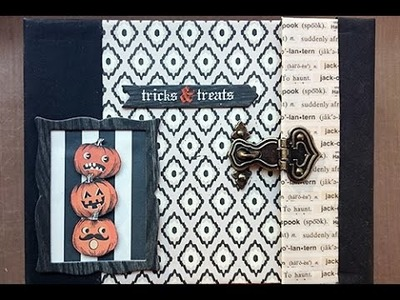 DIY: Tricks & Treats Mini Album