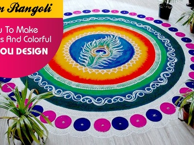 How To Make Fabulous And Colourful Rangoli Designs ?