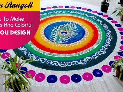 How To Make Fabulous And Colourful Rangoli Designs ?