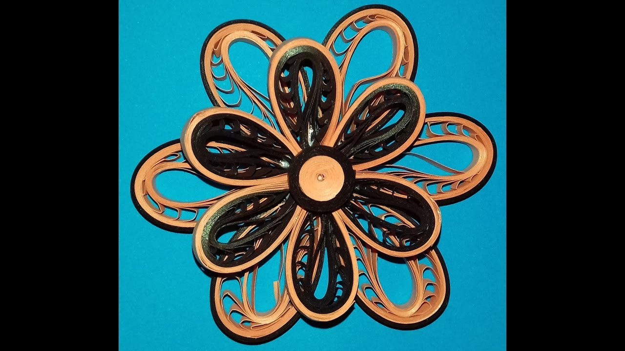 How To Make Paper Quilling Flowerb Flower