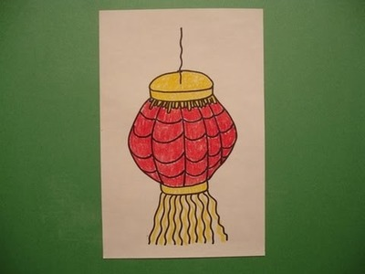 Let's Draw a Chinese Lantern!