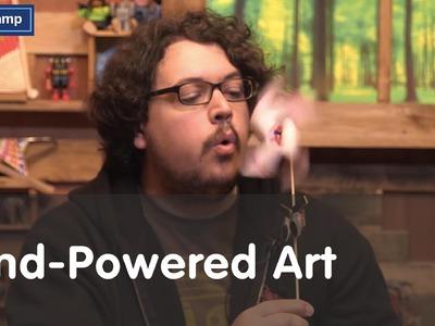 Maker Camp 2015 - Wind-Powered Art