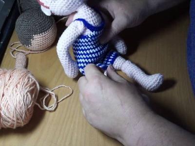 My Little Crochet Doll 5 Making The Lower Legs