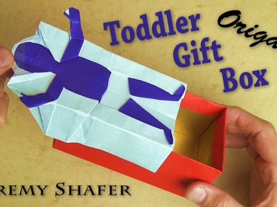 Origami Toddler Gift Box