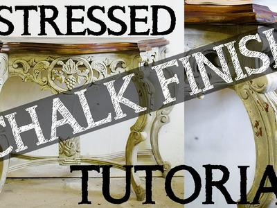 Secrets To Creating A Layered, Distressed Chalk Paint Finish, How To