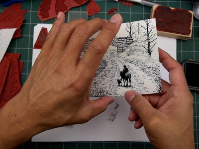 Stampscapes 101: Video 137.  Stamp Sketching