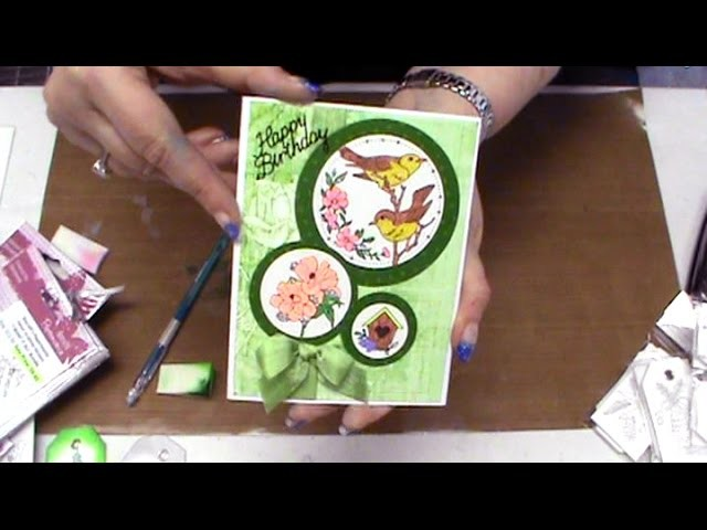 #176 Learn to Color with Splendor Inks or Glitter Gel Pens by Scrapbooking Made Simple