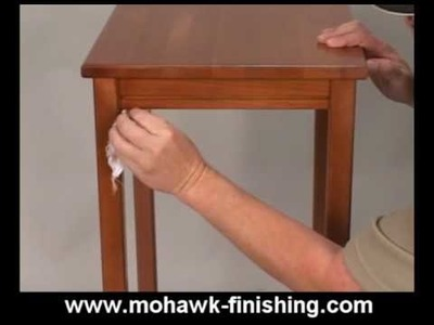 23-How to Revitalize Finish on Wood by Mohawk Finishing Products.mpg