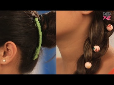 5 Super Cute DIY Hair Accessories - POPxo