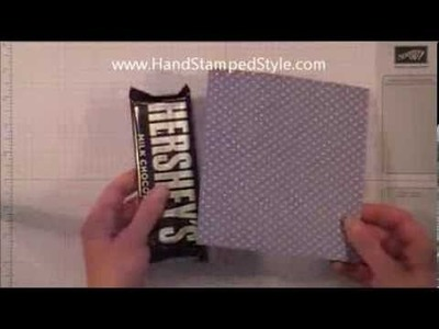 Candy Bar Slider Tutorial By Hand Stamped Style