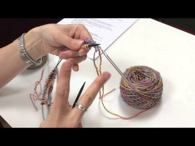 Cast On Two at a Time Socks or Gauntlets Two Circular Needles