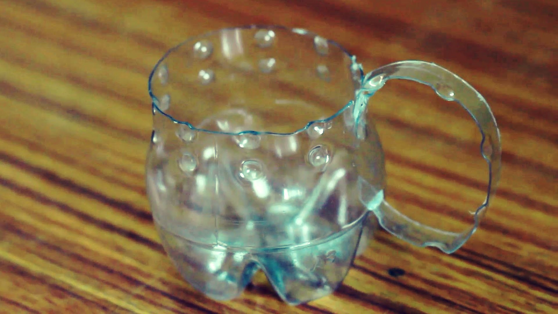 Coffee Cup with Waste Plastic Bottle by SrujanaTV
