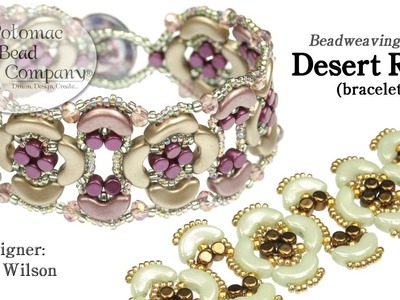 Desert Rose Bracelet (Tutorial)