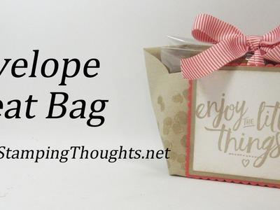 Envelope Treat Bag with Stampin'Up! Envelopes