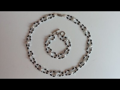 Handmade necklace, bracelet, ring for beginners. Beads jewelry tutorial