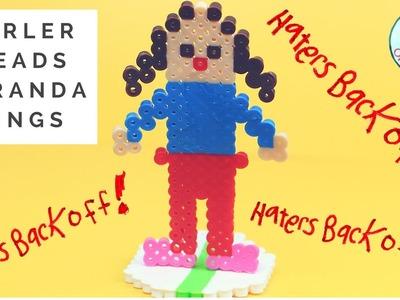 Haters Back Off Miranda Sings (Colleen Ballinger) Perler Beads Tutorial Craft - Netflix Inspired