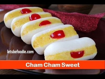 Holi sweets.Indian sweet cham cham recipe.easy sweet dish recipe.homemade sweet- letsbefoodie.com
