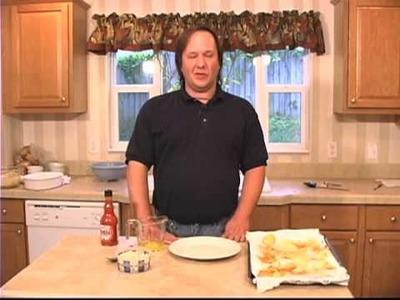 Home Made Potato Chips w.Hot Sauce