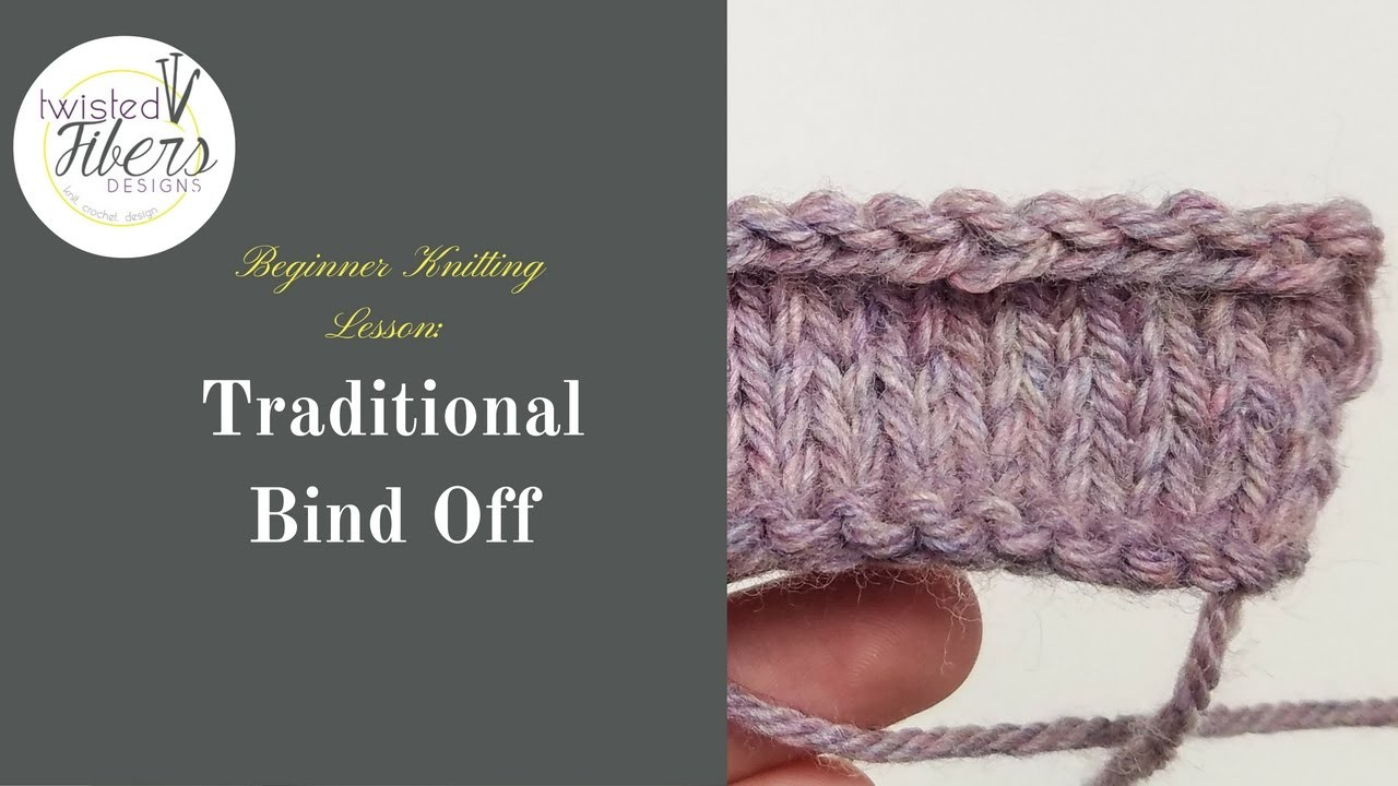 How to Bind Off When Knitting-Knitting For Beginners