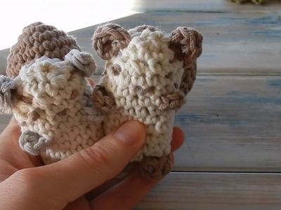 How to Crochet a Siberian Chipmunk