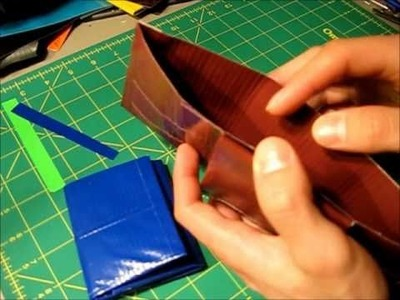 How to make a Duct tape Tri-Bifold wallet