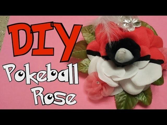 How to make a Pokeball Rose
