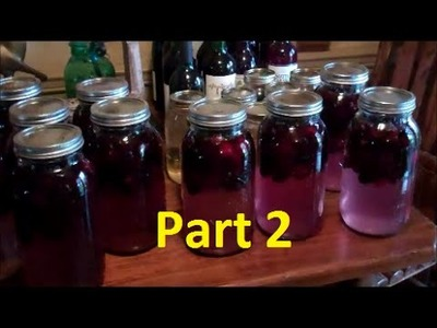 How To Make Easy Homemade Wine~Part 2 ~ Making Blackberry Wine