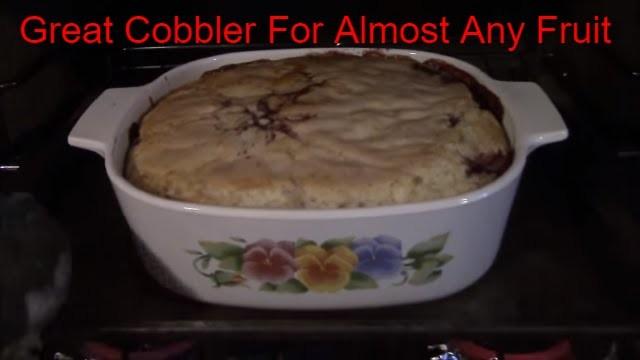 How to Make Homemade Blackberry Cobbler (Or Other Fruit)