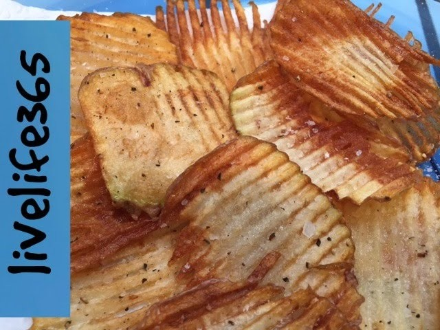 How to. Make Killer.Perfect Potato Chips