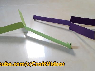How to make Paper Helicopter that can fly