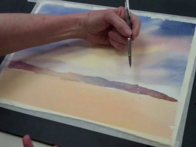 How to Paint a Watercolor Sky — The Art League School