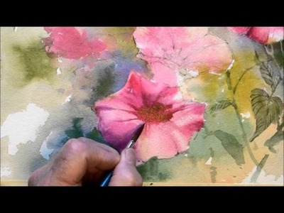 How to paint flowers
