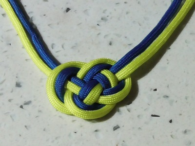 Learn How to Tie A Chinese Double Coin Knot With Paracord - WhyKnot