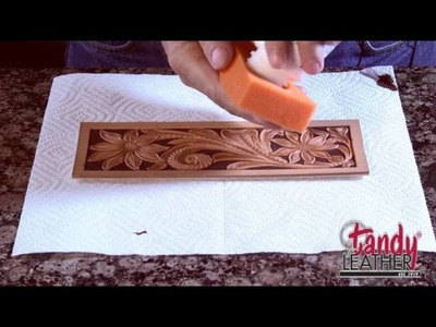 Learning Leathercraft with Jim Linnell – Lesson 9: Dyeing and Finishing