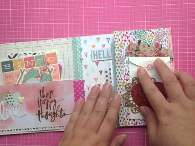 Outgoing flip book style happy mail
