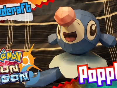 Pokemon Sun & Moon Papercraft ~ Popplio ~
