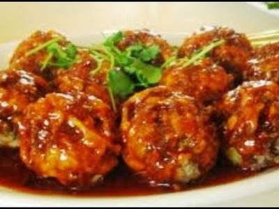 Recipe - Egg Goti (Egg Manchurian) Recipe With English Subtitles