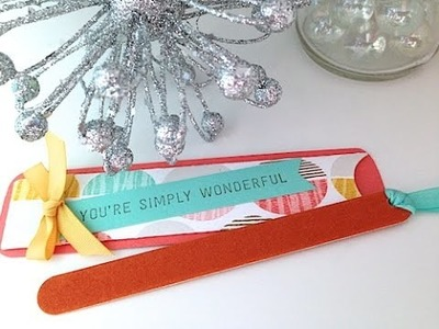 Simply Simple PRETTY LITTLE NAIL FILE by Connie Stewart