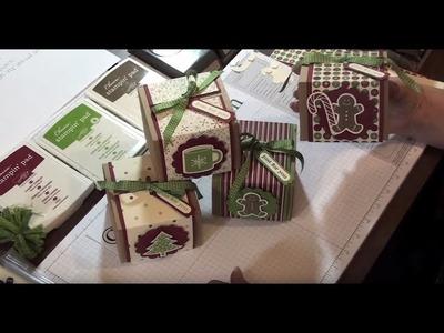 Stamping Jill - Christmas gift boxes