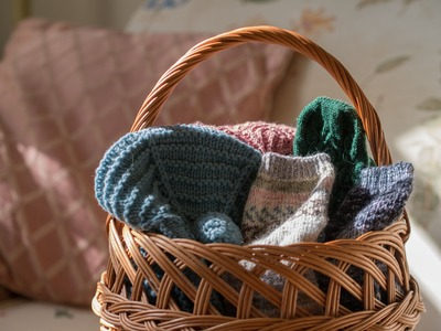 The Charm of It Knitting Podcast 22: Sock Knitting (a little KAL)