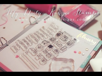 Using Stamps in your Katespade, Filofax, Kikki K, and Erin Condren Planners.