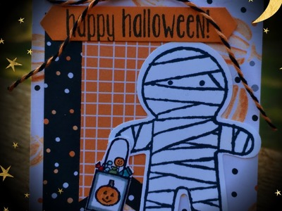 12 Weeks of Stampin' Up! Halloween Projects 2016 Week 8