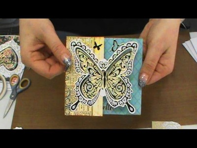 #158 Easy-Peasy & Totally Creative Hot Off the Press Interactive Cards by Scrapbooking Made Simple