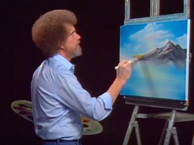 Bob Ross - Mountain Ridge Lake (Season 23 Episode 3)