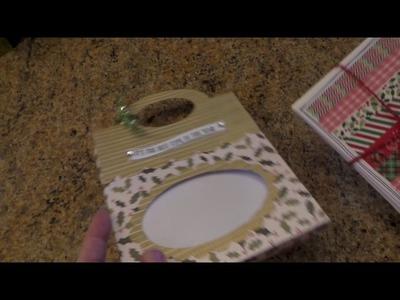 Craft Fair Idea: SUPER CUTE BAG HOLDER FOR CARDS